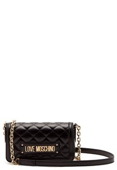 Love Moschino Quilted Chain Bag Black Bubbleroom.se