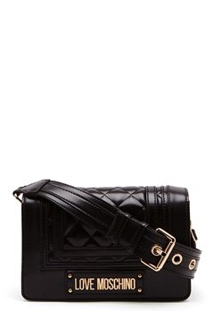 Love Moschino Quilted Shoulder Bag Black Bubbleroom.se