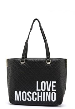 Love Moschino Shopping Lovers 00A Black Bubbleroom.se