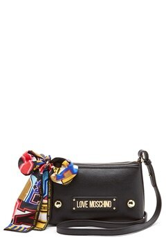 Love Moschino Small Scarf Bag Black Bubbleroom.se