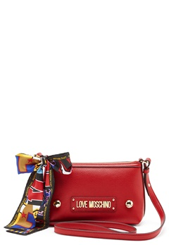 Love Moschino Small Scarf Bag Red Bubbleroom.se