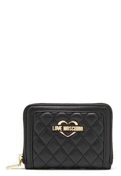 Love Moschino Wallet 00B Black/Gold Bubbleroom.se