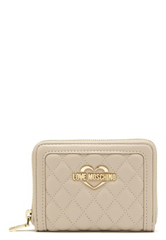 Love Moschino Wallet 108 Taupe/Sand Bubbleroom.fi