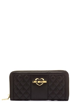 Love Moschino Wallet Black/Gold Bubbleroom.se