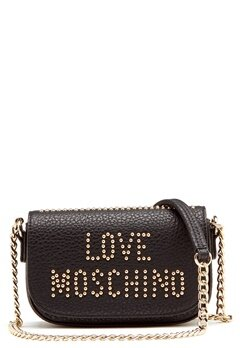 Love Moschino Love New Bag Black/Gold Bubbleroom.se