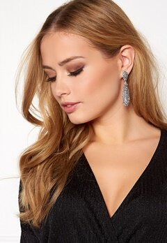 Love Rocks Batton Drop Earring Silver colour Bubbleroom.se
