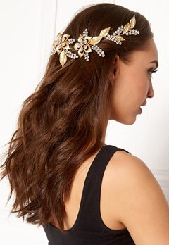 Love Rocks Crystal Hair Jewelry Gold Bubbleroom.se