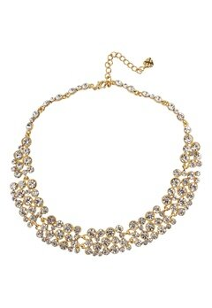Love Rocks Medium Scatter Collar Gold Bubbleroom.se