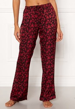 Love Stories Billy Pyjama Pants Bordeaux Bubbleroom.se