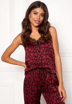 Love Stories Camelia Camisole Top Bordeaux Bubbleroom.se