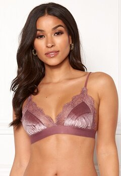 Love Stories Love Lace Bralette Purple Bubbleroom.se