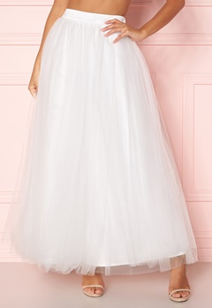 Y.A.S Lucy Maxi Skirt Star White Bubbleroom.se