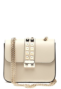 LYDC London Crossbody Bag Creme Bubbleroom.se