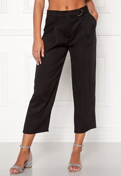 VILA Lyocella 7/8 Pants Black Bubbleroom.no