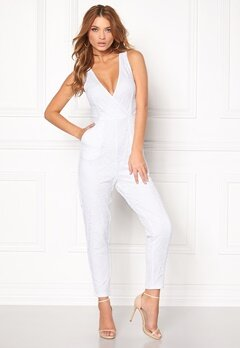 Make Way Adelaide Jumpsuit White Bubbleroom.fi