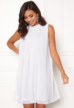 Make Way Agnes pleated dress White Bubbleroom.se