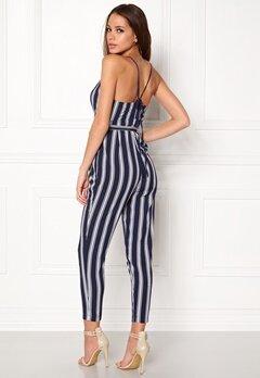 Make Way Aleena jumpsuit White / Blue / Striped Bubbleroom.se