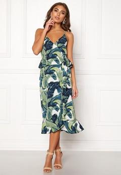 Make Way Analisa dress White / Green / Patterned Bubbleroom.se