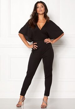 Make Way Ariana jumpsuit Black Bubbleroom.fi