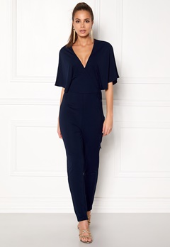 Make Way Ariana jumpsuit Dark blue Bubbleroom.se