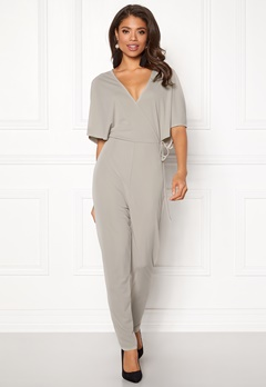 Make Way Ariana jumpsuit Light grey Bubbleroom.se
