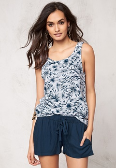 Make Way Billie Singlet White/Blue/Patterned Bubbleroom.se