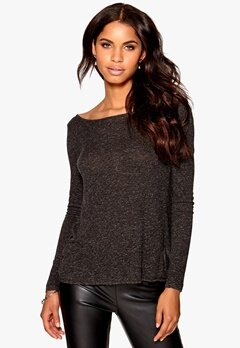 Make Way Cara Top Black / Melange Bubbleroom.fi