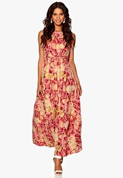 Make Way Carly Dress Pink / Yellow / Floral Bubbleroom.eu
