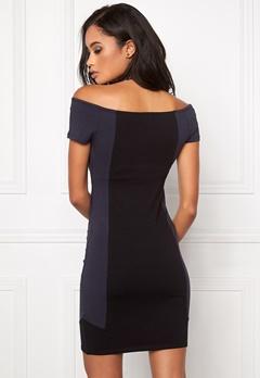 Make Way Carmela Dress Black / Blue Bubbleroom.dk