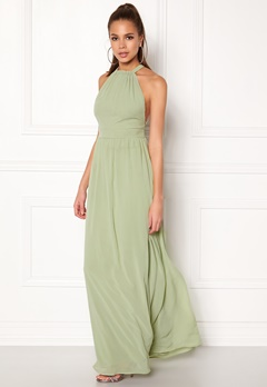 Make Way Cora Maxi Dress Dusty green Bubbleroom.se
