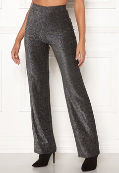 Make Way Dila sparkling trousers Black Bubbleroom.se