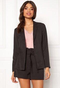Make Way Disa soft blazer Black / White / Striped Bubbleroom.se