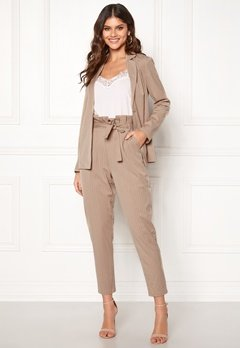 Make Way Disa trousers Beige / Striped Bubbleroom.se