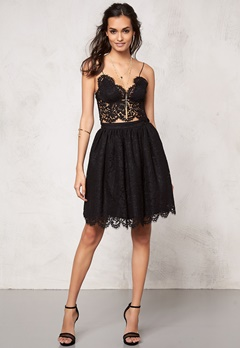Make Way Elenorah  Skirt Black Bubbleroom.eu