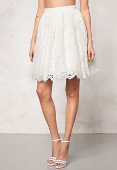 Make Way Elenorah  Skirt White Bubbleroom.eu