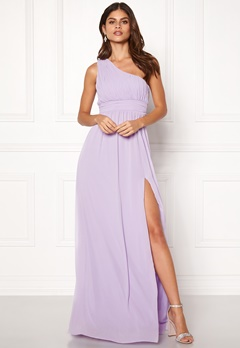 Make Way Ellamae one shoulder gown Lavender Bubbleroom.se