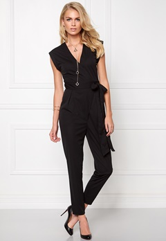 Make Way Elle Jumpsuit Sort Bubbleroom.dk