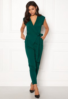 Make Way Elle Jumpsuit Dark green Bubbleroom.se
