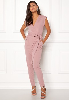 Make Way Elle Jumpsuit Dusty pink Bubbleroom.se
