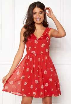 Make Way Faith dress Red / Floral Bubbleroom.se
