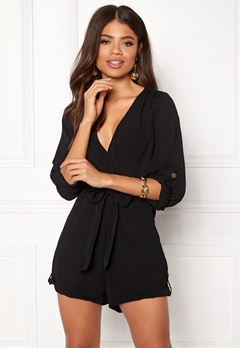 Make Way Flynn Playsuit Black Bubbleroom.se
