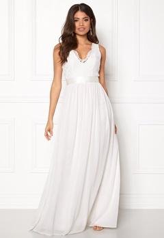 Make Way Genevieve Dress White Bubbleroom.dk