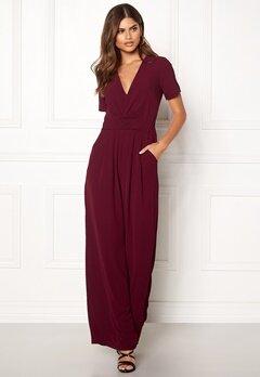 Make Way Harlee jumpsuit Wine-red Bubbleroom.se