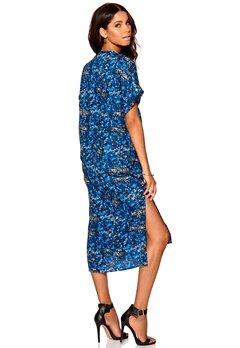 Make Way Imogen Dress Blue / Multi / Patte Bubbleroom.se