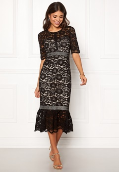 Make Way Jessenia dress Black / Beige Bubbleroom.se