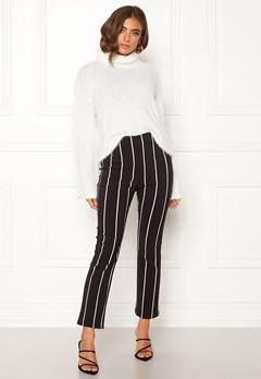 Make Way Joline trousers Black / Striped Bubbleroom.se