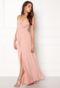 Make Way Jonna Maxi Dress Dusty pink Bubbleroom.se