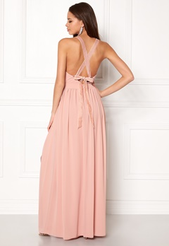 Make Way Jonna Maxi Dress Dusty pink Bubbleroom.no