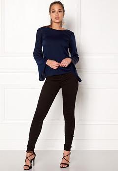 Make Way Joyce blouse Dark blue Bubbleroom.dk