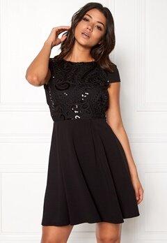 Make Way Kathy sequins dress Black Bubbleroom.se